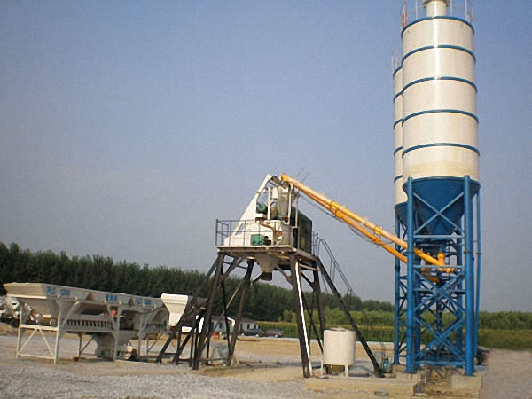 Mini Batching Plant : Mini concrete batching plant