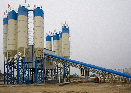 Wet Concrete Batching Plant
