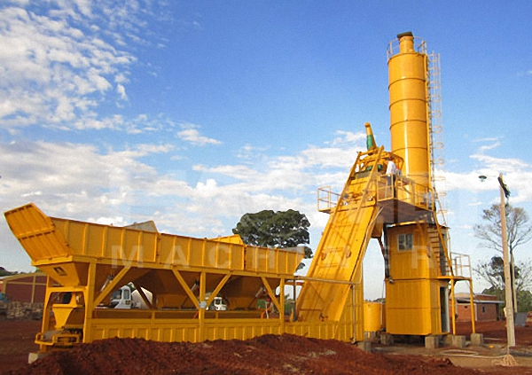 mobile-concrete-plant-was-installed-in-paraguay